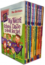 My Weird School Daze 12 Book Box Set by Dan Gutman, Jim Paillot (Illustrator)