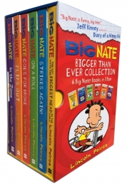 Big Nate Series Collection Lincoln Peirce 6 Books Box Set by Lincoln Peirce