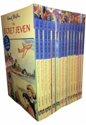Enid Blyton Books Secret Seven Collection Set Photo