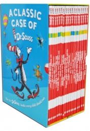 Dr Seuss books  - A Classic Case Series 20 Books Gift Box Photo
