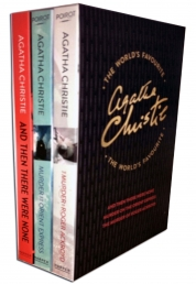 Agatha Christie The Worlds Favourite 3 Books Collection Box Set Photo