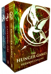 The Hunger games Trilogy Foil Collection 3 Book Set Pack Photo