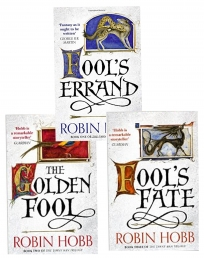 Robin Hobb The Tawny Man Trilogy 3 Books Collection Set - Fools Errand Book One, The Golden Fool Book 2, Fools Fate Book Three by Robin Hobb