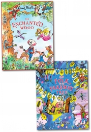 Enid Blyton Books - Magic Faraway Tree and Enchanted Wood Collection 2 Books Set Photo