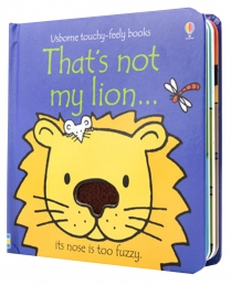 Thats Not My Lion (Touchy-Feely Board Books) by Fiona Watt