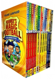 Frank Lampard Frankies Magic Football Collection 12 Books Set by Frank Lampard