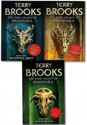 A The Dark Legacy of Shannara Series 3 Books Collection Set By Terry Brooks (Wards of Faerie, Bloodfire Quest, Witch Wraith) by Terry Brooks