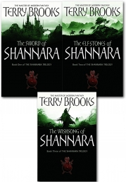 The Shannara Chronicles Series Terry Brooks 3 Books Collection Set  (The Sword Of Shannara, The Elfstones Of Shannara, The Wishsong Of Shannara) by Terry Brooks