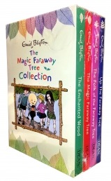 The Magic Faraway Tree Collection 4 Books Box Set Pack by Enid Blyton