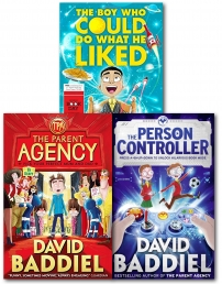 David Baddiel Collection 3 Books Set (The Boy Who Could Do What He Liked,The Parent Agency,The Person Controller) by David Baddiel