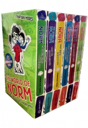 The World of Norm Series 2 and 3 - 6 Books Collection Box Set Photo