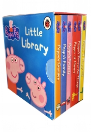 Peppa Pig: Little Library 6 Books Children Collection Set Gift by Ladybird