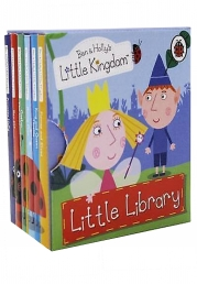 Ben and Hollys Little Kingdom Little Library 6 Books Box Set by Ladybird