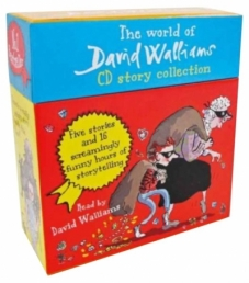 The World of David Walliams 5 Stories in 14 Audio CDs Gift Box Set Photo