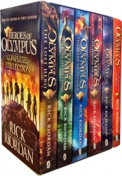 Heroes of Olympus Collection Rick Riordan 6 Books set Photo