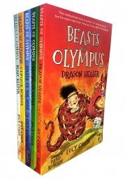 Beasts Of Olympus Series Collection Lucy Coats 5 Books Set by Lucy Coats