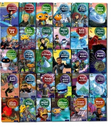 Oxford Reading Tree Project X Alien Adventures Series 1 Collection 31 Books Set by Oxford