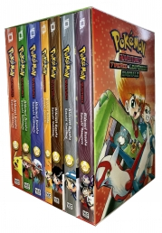 Pokemon Adventures FireRed and LeafGreen Emerald Collection 7 Books Box Set Photo
