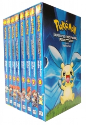 Pokemon Diamond and Pearl Adventure 8 Books Collection Box Set (Vol1-8) Photo
