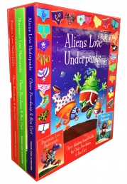 Alien Love Underpants Collection 3 Books Box Set Photo