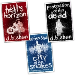The City Series Trilogy Collection 3 Book Set Pack (Hells Horizon) by Darren Shan