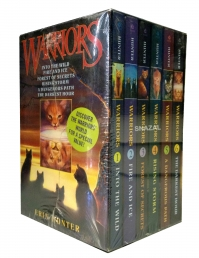 Warriors Cats Series 1 6 Books Collection Set By Erin Hunter by Erin Hunter
