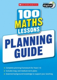 100 Maths Lessons: Planning Guide (100 Lessons - 2014 Curriculum) (Paperback) Photo