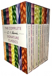 C S Lewis Signature Classics 7 Books Boxed Set  C S Lewis books Photo