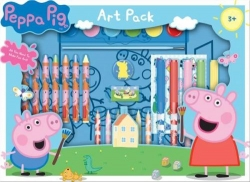 Peppa Pig Art Box Gift Set Pack by