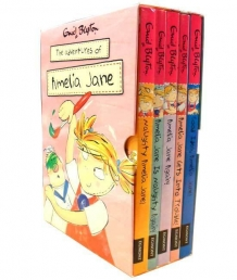 Enid Blyton Books - Amelia Jane 5 Books Set Photo