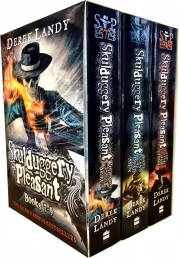 Skulduggery Pleasant - Series 3- Derek Landy 3 Books Collection Box Set (Book 7-9), skulduggery by Derek Landy