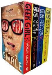 Geek Girl Series Holly Smale 4 Collection Books Boxed Set by Holly Smale