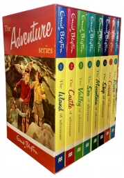 Enid Blyton Books Adventure Series 8 Books Box Set Collection Photo