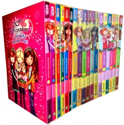 Secret Kingdom fairy books Series 1, 2 and 3 Collection By Rosie Banks 18 Books Set Photo