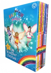 Rainbow Magic Series 2 The Weather Fairies Collection 7 Books Box Set (Books 8 to 14) Photo