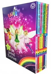 Rainbow Magic Series 4 The Jewel Fairies 7 Books Box Set Book 22-28 Photo
