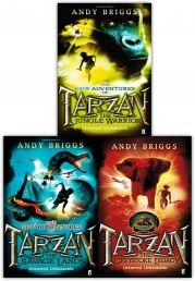 Andy Briggs Tarzan a Legend Reborn 3 Books Collection Set Photo