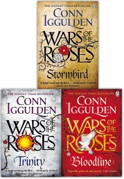 Wars of the Roses Series Conn Iggulden 3 Books Collection Set Photo
