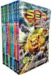 Sea Quest Series 3 and 4 Collection Adam Blade 8 Books Set Photo