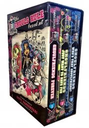 Monster High Ghouls Rule 3 Books Collection Box Set Pack Ghoulfriends Forever Photo