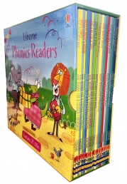Usborne Phonics Readers 20 Books Collection Box Set by Russell Punter, Lesley Sims, Phil Roxbee Cox, Mairi Mackinnon