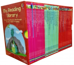 Usborne My Second Reading Library 50 Books Set Collection Pack Early Level 3 and 4 by Various
