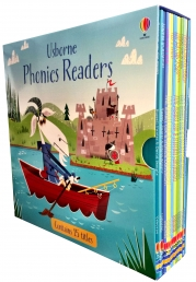 Usborne Phonics Young Readers 15 Picture Books Box Set Photo
