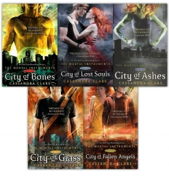 Cassandra Clare Set 5 Books Collection Mortal Instruments Series by Cassandra Clare