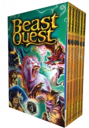 Beast Quest 6 Books Collection Set by Adam Blade (Series 4) Photo
