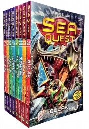 Sea Quest Series 5 and 6 Collection Adam Blade 8 Books Set Photo