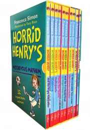 Horrid Henry Books Mischievous Mayhem Collection 10 Books Box Set Photo