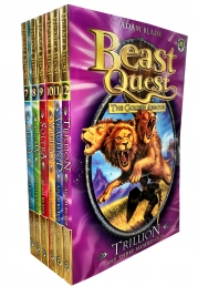 Beast Quest Series 2 The Golden Armour 6 Books Collection Set Classic Cover by Adam Blade