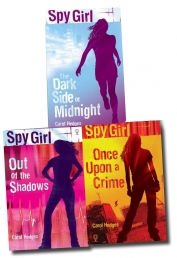 Spy Girl Collection by Carol Hedges 3 Books Set by Carol Hedges