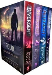 Divergent Insurgent Allegiant 4 Books Collection Box Set by Veronica Roth